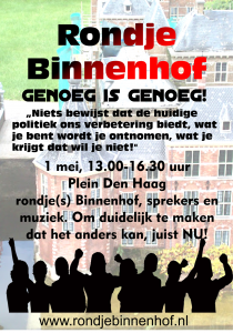 Rondje Binnenhof poster kleur