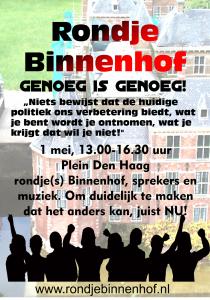 Rondje Binnenhof poster kleur