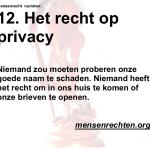 Recht op Privacy